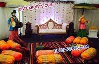 Punjabi Wedding Mehandi Decoration Cushions