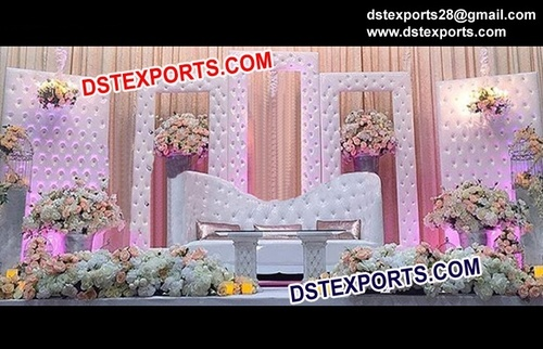 Latest Leather Crystal Backdrops and Furniture