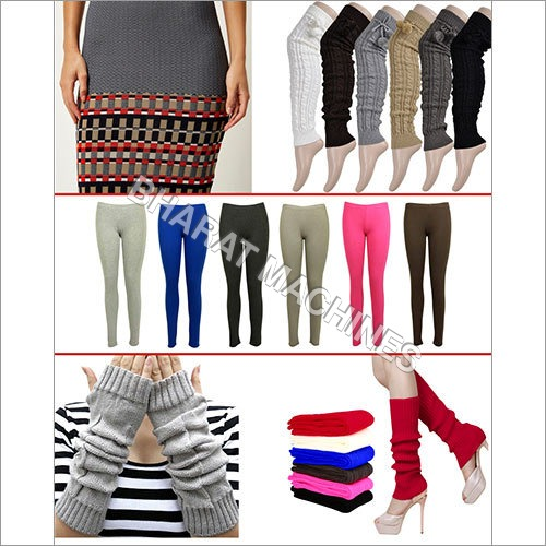 Woolen Kurti Leggings & Legs Wear Machine