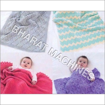Knitting Machine for Baby Blanket