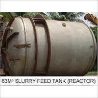 63m Slurry Feed Tank (Reactor)