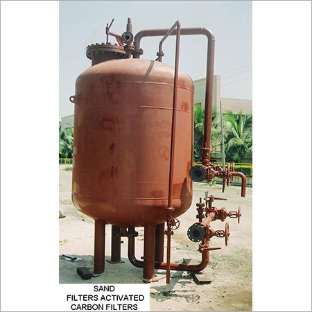 Sand Filters Activated Carbon Filters