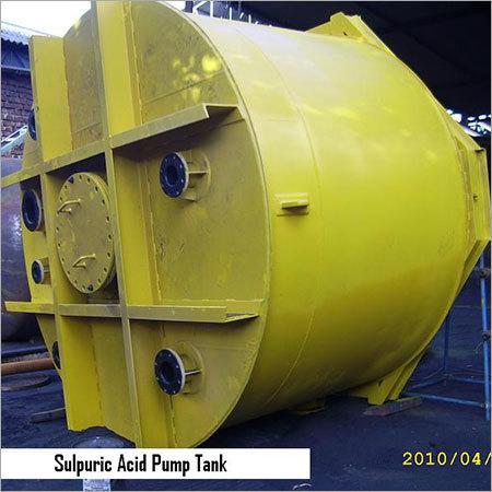 Sulpuric Acid Pump Tank