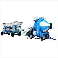 Wheel Concrete Batching Plant