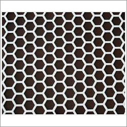 Hexagonal Perforated Sheet