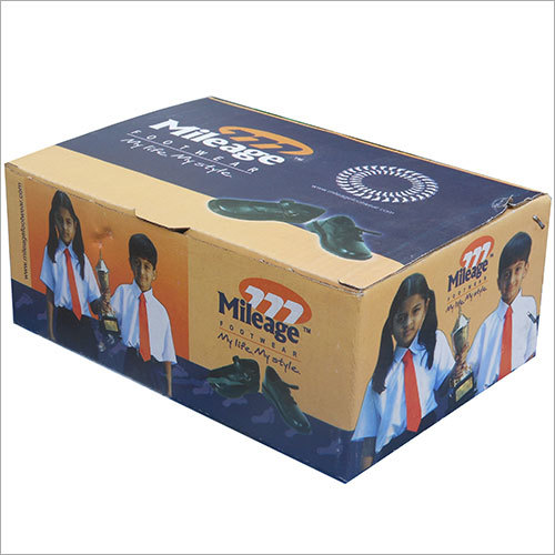 Footwear Printed Corrugated Box