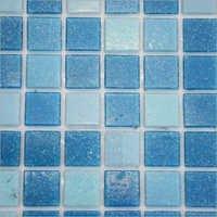 Sky Blue Mosaic Tiles