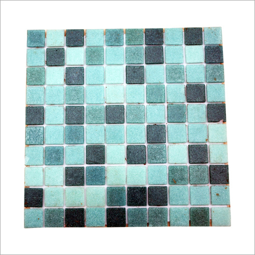 Green Mix Mosaic Tiles