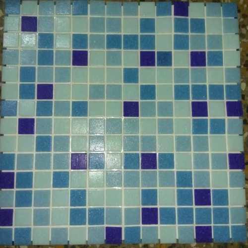 Yellow Mosaic Tiles