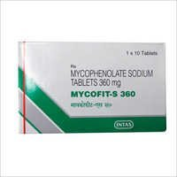 Mycophenolate Sodium Tablet 360mg
