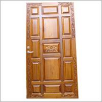 Teak Wood Entrance Door