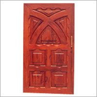 Engraved Entrance Door