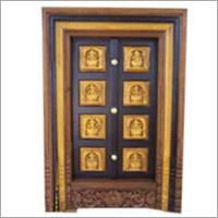 Six Panel Wooden Door