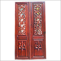 Rosewood Temple Door