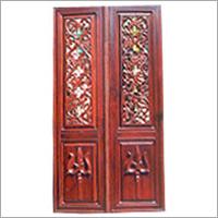 Rosewood Temple Door