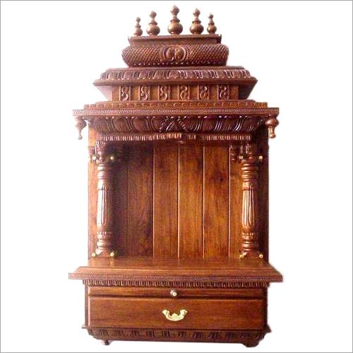 Home Wooden Mandir