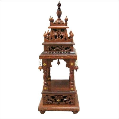Teak wood Single Moorthy Meenakshi Mandir