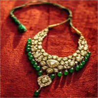 Rajasthani Kundan Gold Necklace