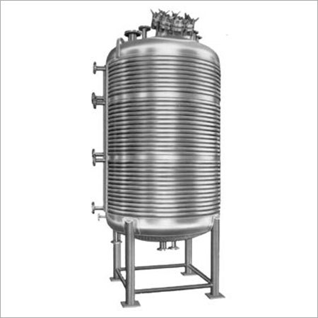 Stainless Steel Limpet Reactor