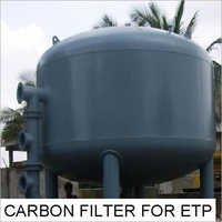 CARBON FILTER FOR ETP