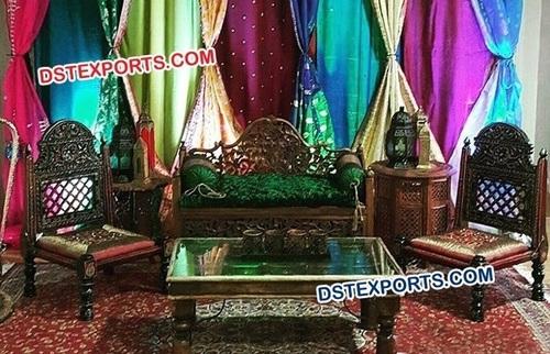 Moroccan Themed Wedding Sofa