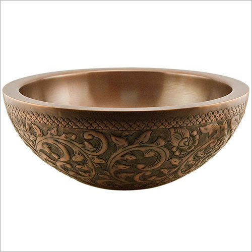 Lenora Double Wall 16 Copper Sink