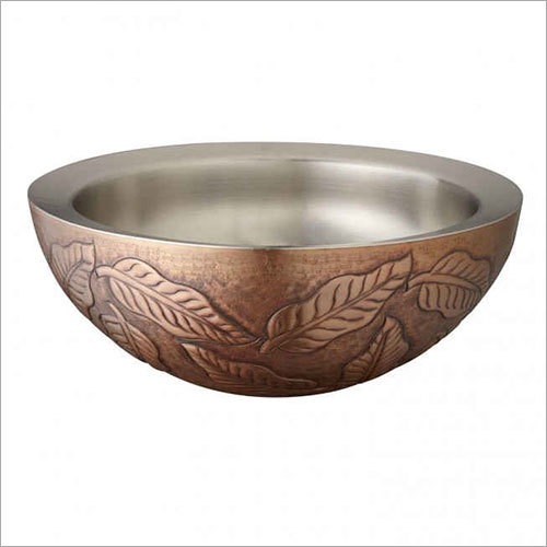 Protea Double Wall 16 Copper Vessel Sink
