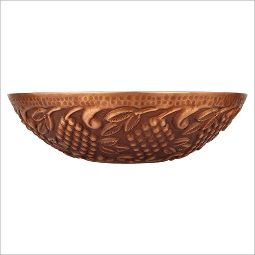 Klara Double Wall Copper Vessel Sink