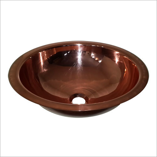 Undermound Single Bowl Smooth Round Sink