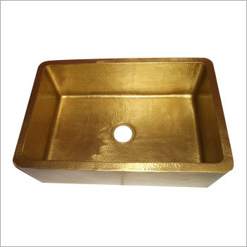 Front Apron Brass Kitchen Sink