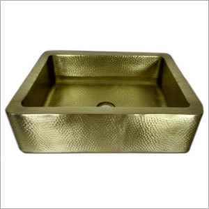 Copper and Brass Kitchen Sink