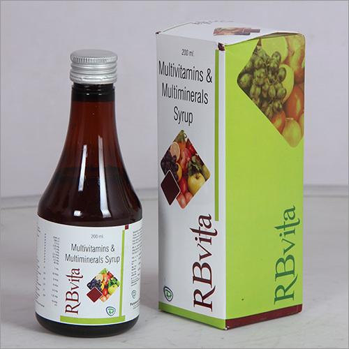 Multivitamins & Multiminerals Syrup
