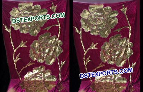 Wedding Mehandi Stage Flower Decoration