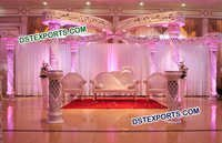 New Butterfly Wedding Crystal Mandap