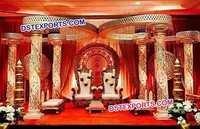 Indian Fiber Crystal Wedding Mandap