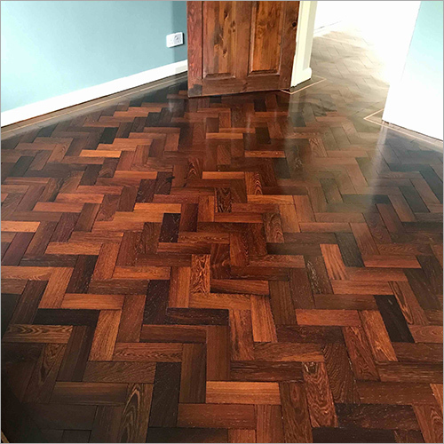 Wooden Flooring Herringbone
