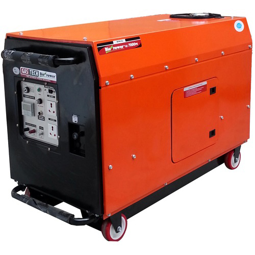 Silent LPG Generator 5KVA