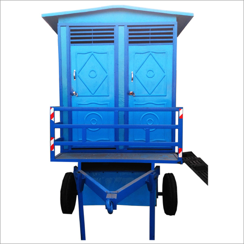 Mobile toilet van 2 seater
