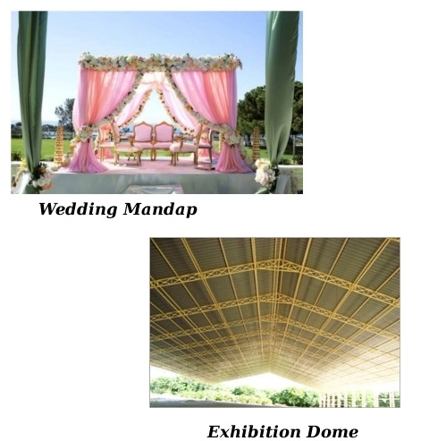 Wedding Mandap & Exhibition Dome