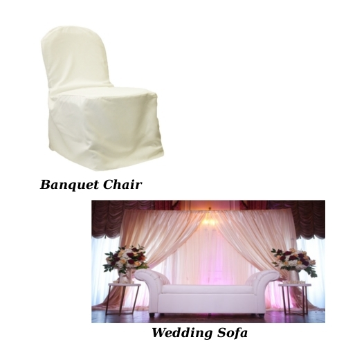 Banquet Chair & Wedding sofa
