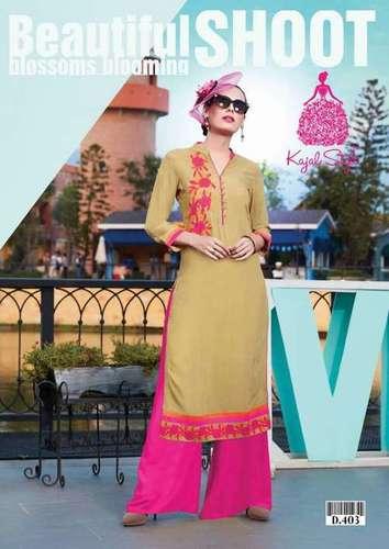 Kajal Style Kurtis