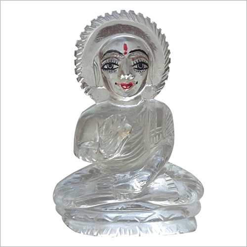 Crystal Quartz God Statue