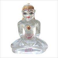Crystal Jain Mahavir Swami Statue