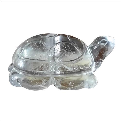 Crystal Quartz Tortoise