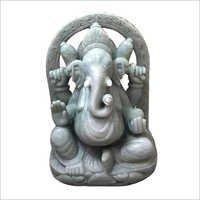 Lord Ganesha Jade Stone Statue