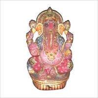 Rose Quartz Stone Ganesha Statue