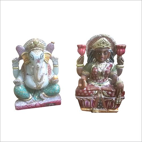 Laxmi Ganesha stone Statue