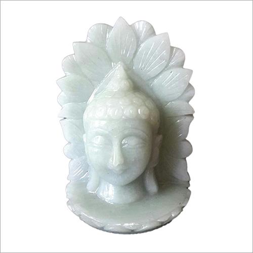 Buddha Face jade stone Statues