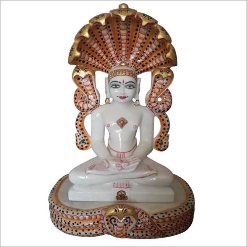 Jain Parshwnath Marble Statue