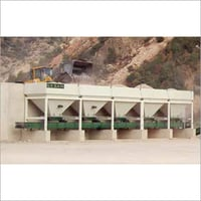 Cold Aggregate Bin Feeders & Conveyor Belts